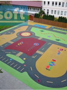 Bezpieczne powierzchnie na place zabaw
