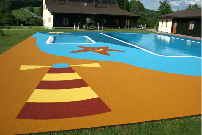 Bezpieczne posadzki na basen