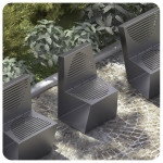 krzesło miejskie Single
