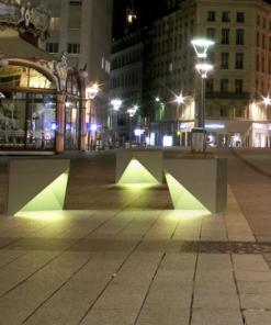 kubik z podświetleniem LED